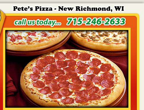 Pete s pizza 1230 north knowles ave new richmond wi phone